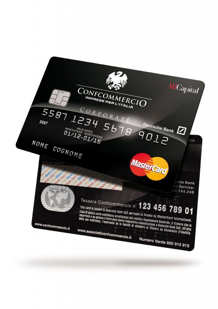 Visual Confcommercio Card