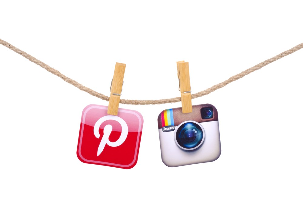 Pinterest Instagram-social-internet