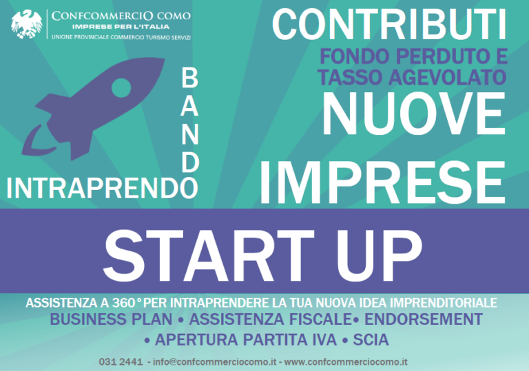 start up-bando- nuove imprese-assistenza