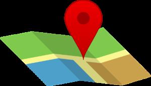 Mappa turistica del Lago di Como