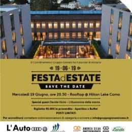 Festa d'Estate Coordinamento Giovani @ Hilton Lake Como Hotel