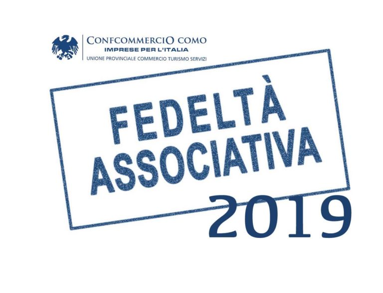 fedeltà associativa 2019