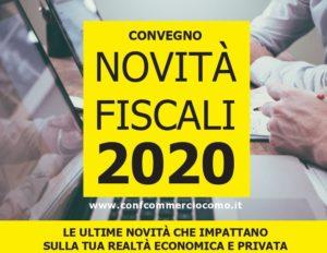 Novità fiscali 2020  - Al via il tour di convegni