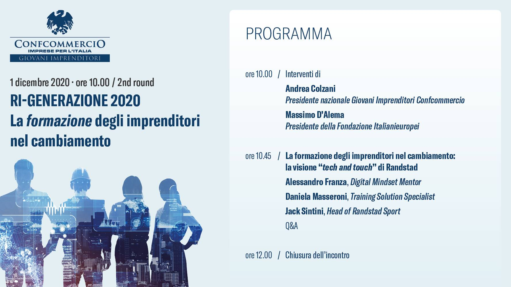 Rigenerazione 2° Consiglio Giovani 2020
