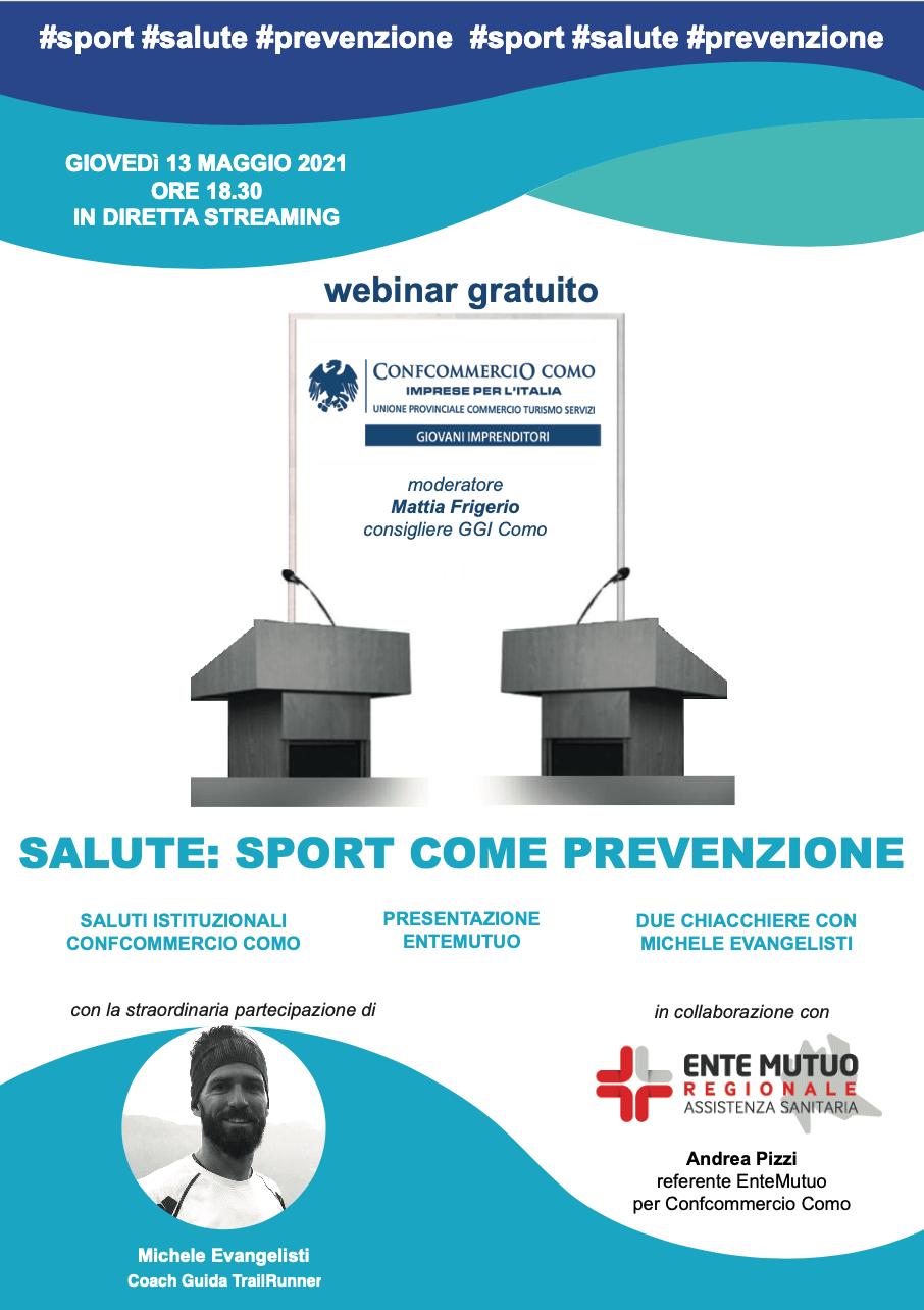 Giovani Imprenditori - Salute: Sport come prevenzione 2021