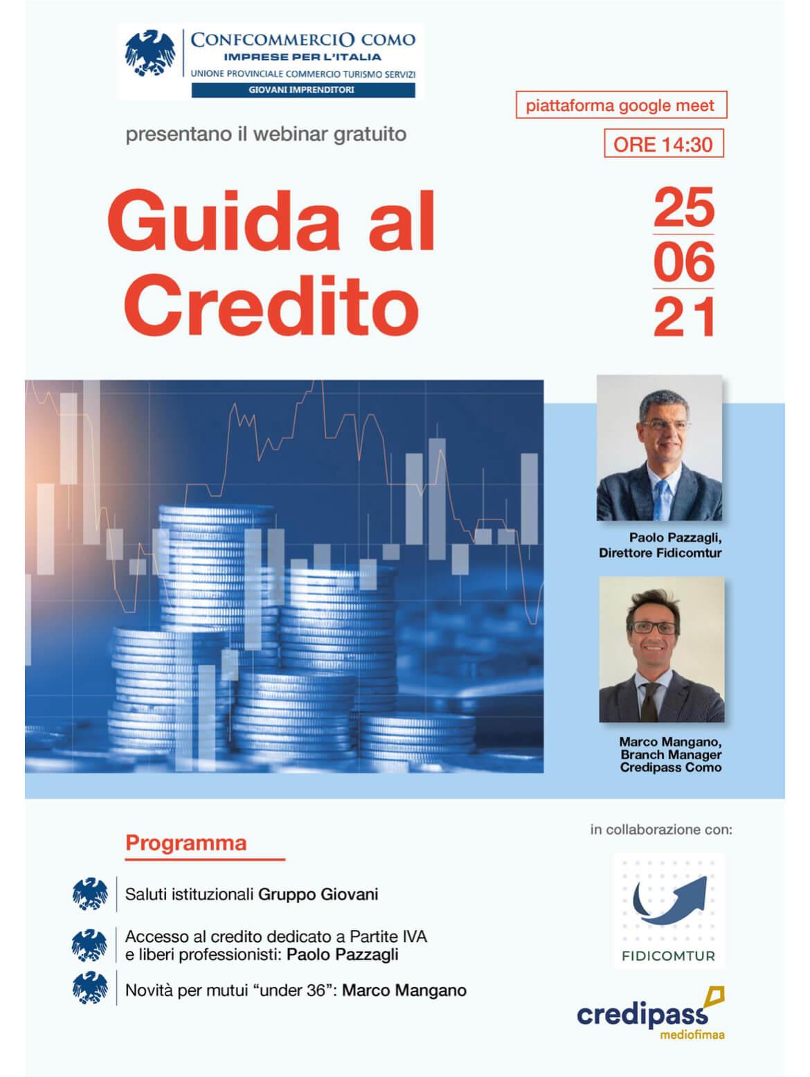 Giovani Imprenditori - Guida al credito 2021